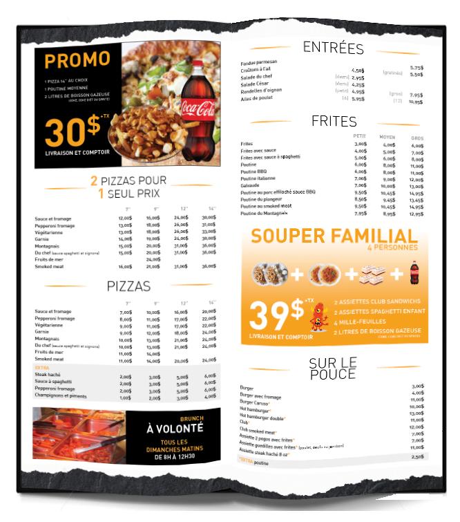 Roulotte Ste Anne >> Accueil - Restaurant le Montagnais